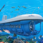 رحلة الغواصة السياحية في أعماق بحر مرمرة – تركيا