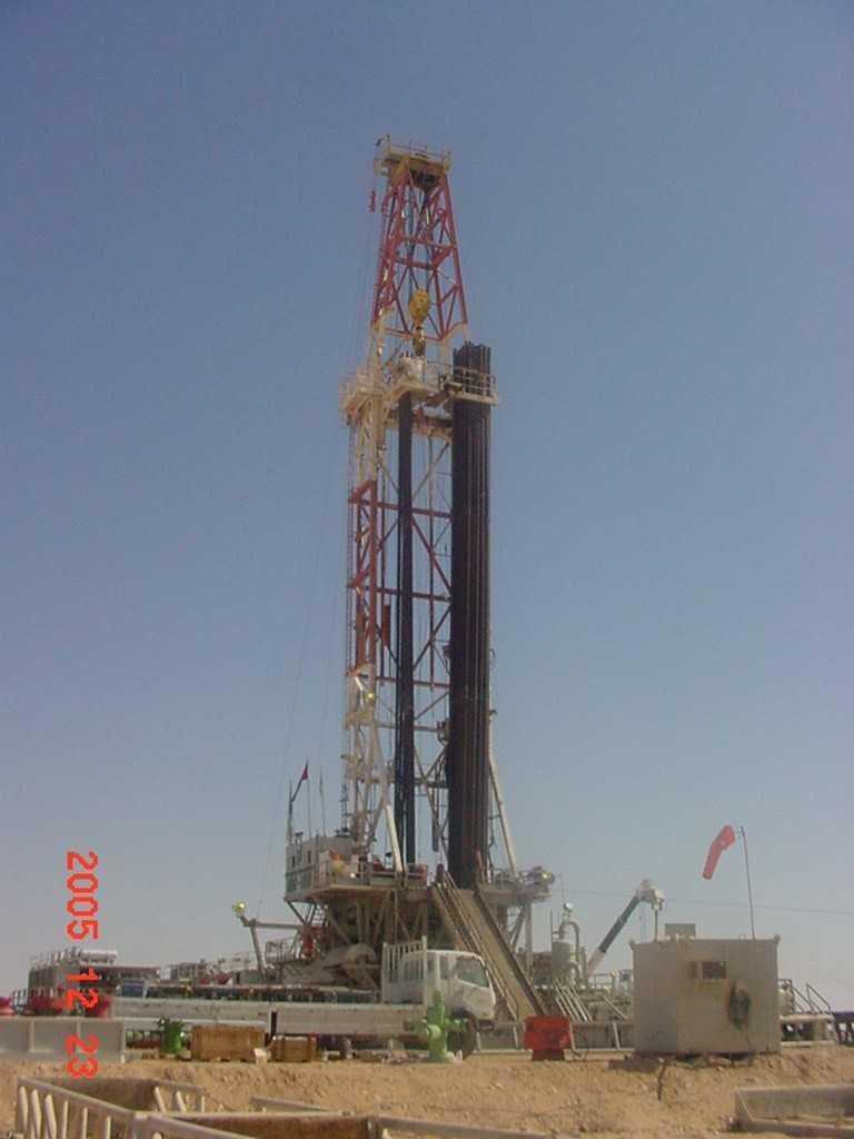 انواع سوائل حفر الابار النفطية