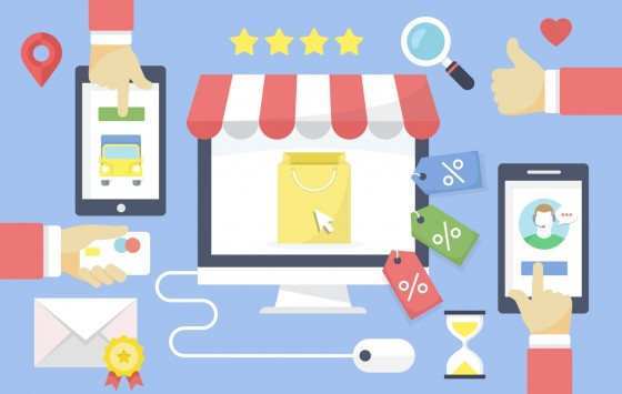 أعمال التجارة الإلكترونية