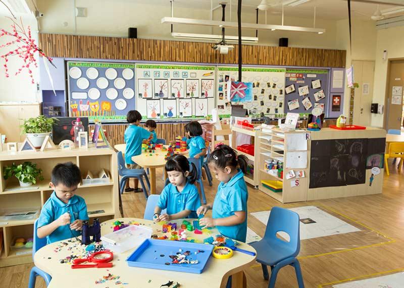 مشروع تصميم روضة أطفال