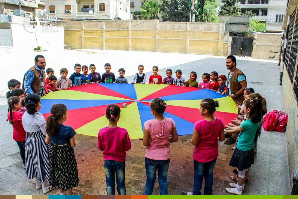 مشروع تنظيم حفلات الاطفال