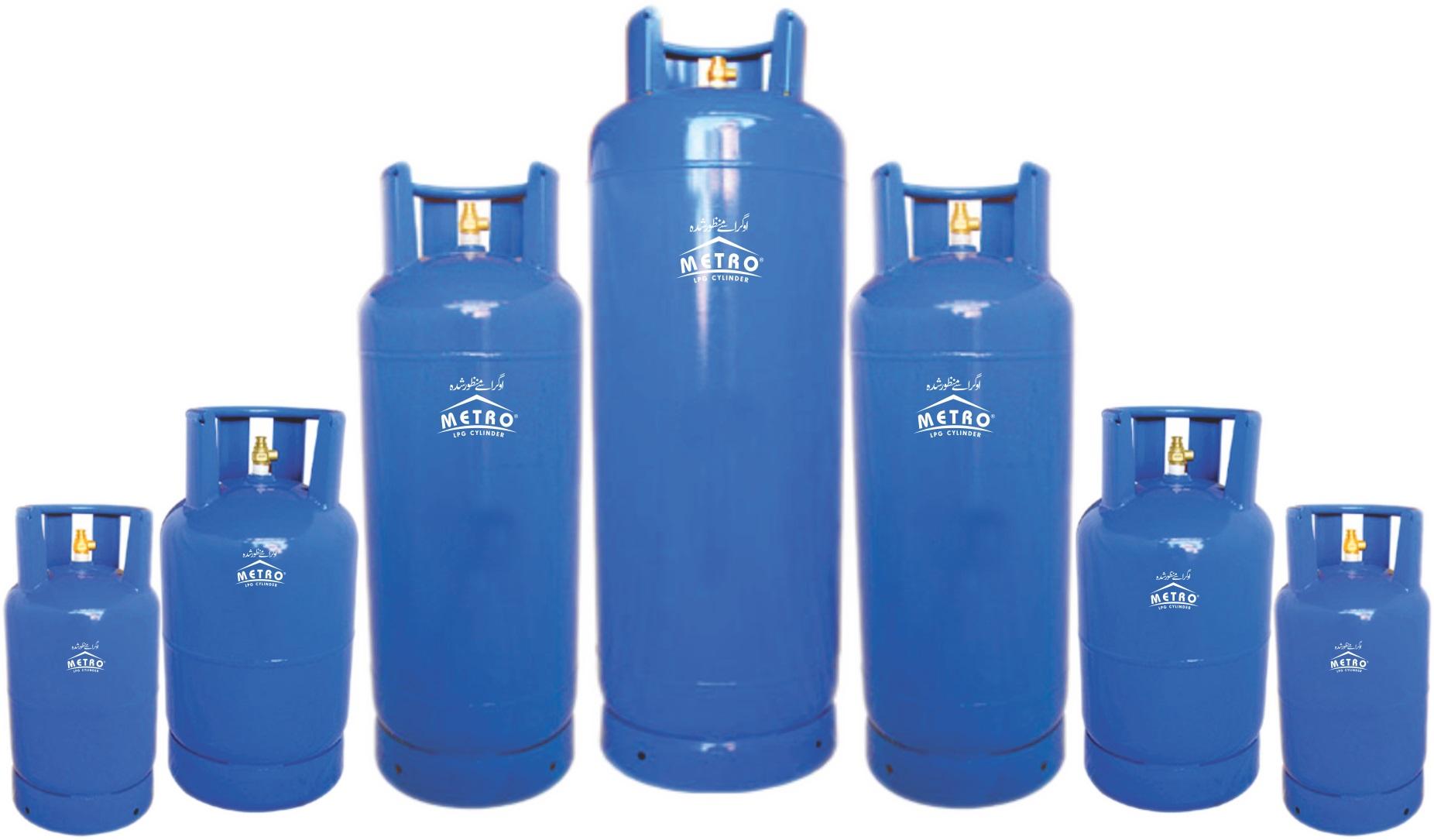 كيف يتم تعبئة اسطوانات الغاز