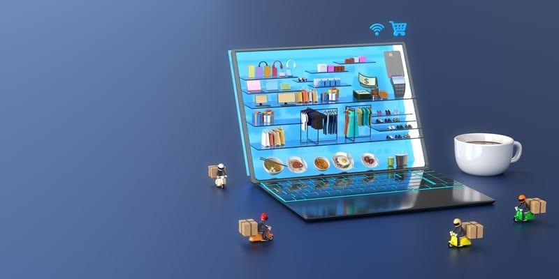 متجر سوق الكتروني