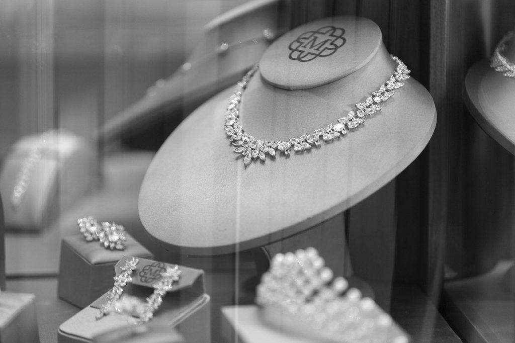 متجر مجوهرات الكتروني